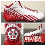 "Everyone go check out the new cleats!!  ""@NUequipment: New adizero 5-Star custom cleats. Thanks @adidasUS #huskers http://t.co/LCeUcxI3jm"""