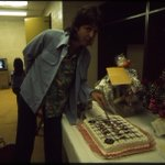Paul celebrating his birthday on the Wings Over The World tour. More photos: http://t.co/8CAi2TGIlj #WingsWOA http://t.co/p0lzxKYWLa