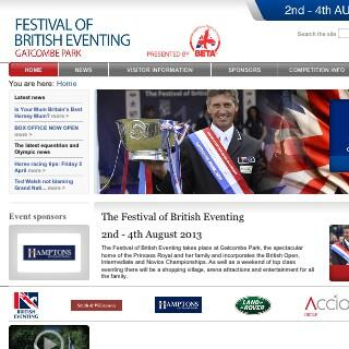 Call out to #Equestrian twitterers - Save the date 2nd - 4th August - Hamptons sponsor #Festival of British Eventing http://t.co/xYZS7Uls1M