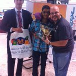 RT @MuscatDutyFree: @radiomerge @MuscatDutyFree congrats to our first winner of the morning http://t.co/uQnDJAXeL0