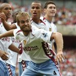 RT @AVFCOfficial: Remember the last time we travelled to the Emirates on the opening day? #Mellberg #AVFC http://t.co/56Ea3rCHTd