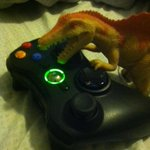 Bosh playing my Xbox and shit http://t.co/RKRnTWaRzU