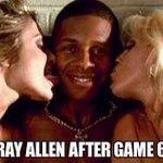 RT @BasketballPics: Ray Allen tonight! http://t.co/I8L6stloLb