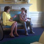 Cool pic of #Waterfords @caseygames (13) briefing European Commission Vice-President @neeliekroeseu h/t @eurireland http://t.co/ttacTCzuAG