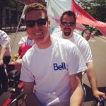 RT @justinpereira7: Bell Team on the Big Bike for Heart & Stroke @CanadianNick @rgregory07 http://t.co/nyUZvIOd2d