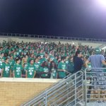 Great video shoot with UNT Orientation students last night at Apogee Stadium. Thanks to @oldhatcreative http://t.co/VIYcjFliO7