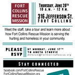 Come to #FortCollinsRescueMission open house and learn more about what we do #HomelessFortCollins #FortCollinsNews http://t.co/cSoxjzAS0E