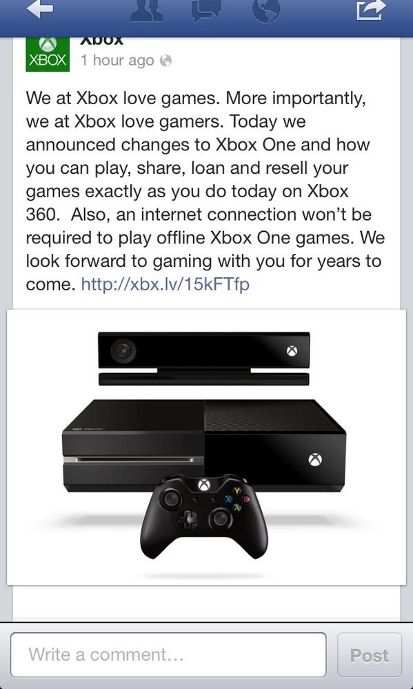 Good New :') #XboxOne http://t.co/XK7bxjdohB