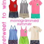 RT to win a MONOGRAMMED @MarleyLilly Tank Top! TWO winners will announced on 6/21! Must follow us to win! #giveaway http://t.co/C8IEyRR48g