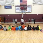 @GentsBasketball Senior guard Jonathan Blount @bfizzle5 talking to campers about free throw shooting. http://t.co/SM2qtkL0Lc