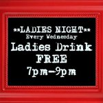 RT @Tap42Bar: Its Wednesday, you know what that means.....LADIES NIGHT 7:00-9:00 ladies drink FREE! http://t.co/KqsxXenfsf