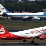 RT @airberlin: Bye bye Mr. President! http://t.co/4BD5uQ3XCV