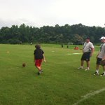 At GMC football camp. Punt, pass and kick contest http://t.co/Ot1ya4yPz7
