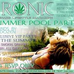 CRONIC MAG PRIVATE POOL PARTY .. RSVP ONLY! Free booze & cronic!! @cronicmag @BadRushnBch @tiny_martinez @djDOZEN RT http://t.co/B2OXW96Aq1