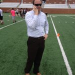 RT @MercerFootball: General manager @DTate72 evaluating the talent at football camp http://t.co/iZfKWYDB8d