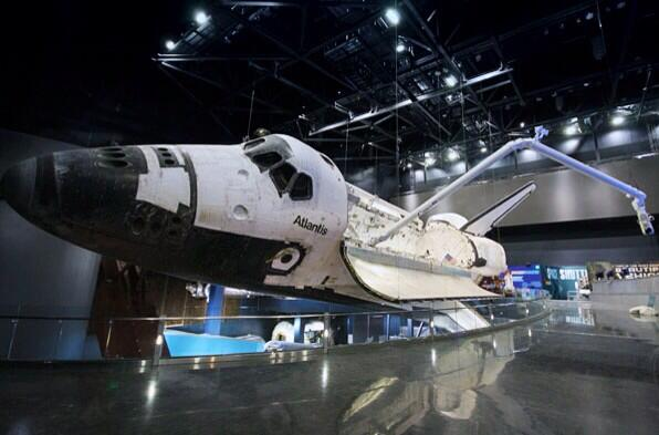 I can't wait to go to @ExploreSpaceKSC to see #ShuttleAtlantis in her new home! #SpaceSocial #NASASocial #nasa http://t.co/S1knVOatBu
