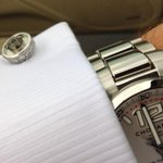 RT @HollenWolff: The @HollenWolff inlay cufflink with @Chopard #millemiglia. #goodpair http://t.co/3MoKNiCv44