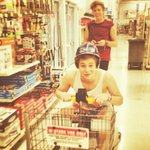 RT @Luke5SOS: saftey first at Walmart :) haha http://t.co/iF25k6ecbV