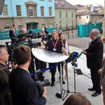 Main plenary of #DA13 is about to start. Biggest event of Irish #EU presidency. Facing the media pack here http://t.co/0LOV02LQt5