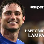 RT @chelseafc: Happy birthday to Frank Lampard who turns 35 today. #CFC http://t.co/0eNQorcScg