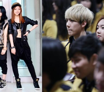 Here's the photo of DaEun and Sehun http://t.co/K84cIAG9l4