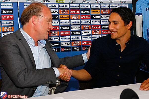 I'm very proud to have resigned with Fc Utrecht. Great club and people :) #fcutrecht #veryhappy #Eredivisie http://t.co/AckjkxOzKE