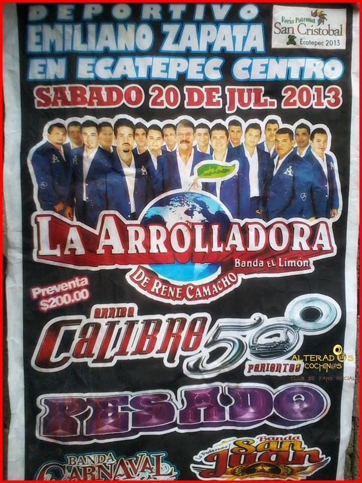 #Calibre50 @calibre50eden @calibre50mx Ecatepec,EdoMex. Julio 20 Deportivo Emiliano Zapata. RT http://t.co/6sD3KLWqrD