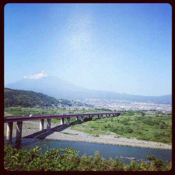 富士山 http://t.co/MWIkXfy4IG