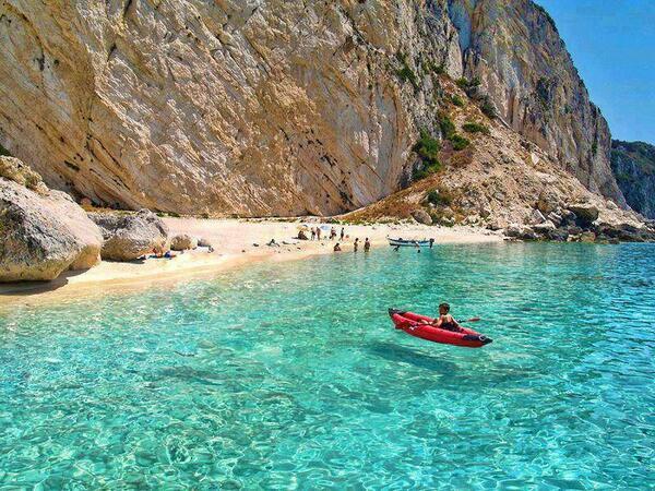 Kalypso Beach - Othonoi Island, Greece http://t.co/cB94USD02K