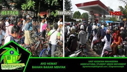 Yuk, ubah perilaku konsumtif kita, BBM bukan renewable energy loh. Salam Hijau! @BEM_FEM_IPB @tweetFMIPA @bemtpbipb1 http://t.co/Y6rSrC0RXR
