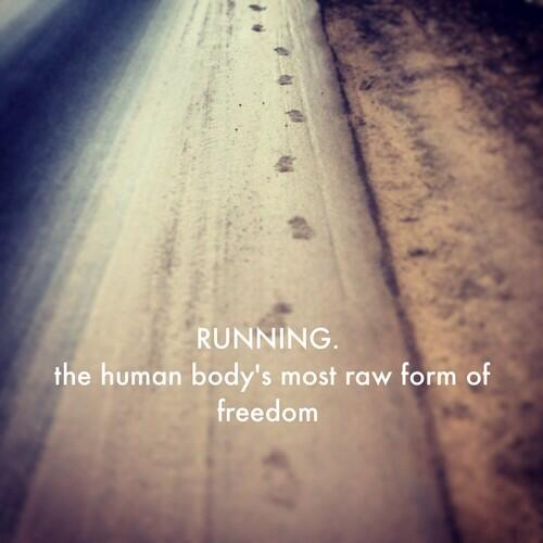 Be free and run this weekend! http://t.co/Y78p6J1GTj