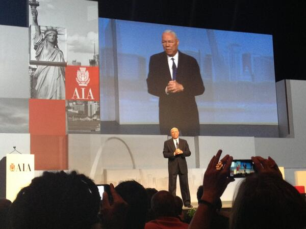 Love this photo from AIA 2013 National Convention #aia2013 @AIANatlConv [pic] --