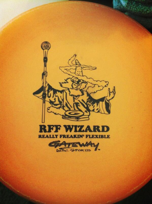 RT @JPonY107: Disc golf. That's what's about to happen. Have to try out my new @Gateway_Discs #RFFWizard http://t.co/muehjVnrPP