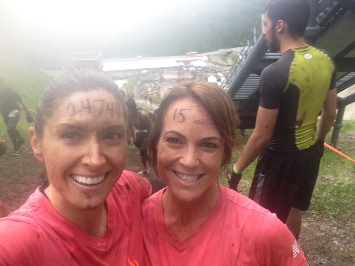 We did it!!!  The #toughmudder was an incredible experience. Loved ever challenge. Thx #Whistler!!! http://t.co/XFvvvnOUwA