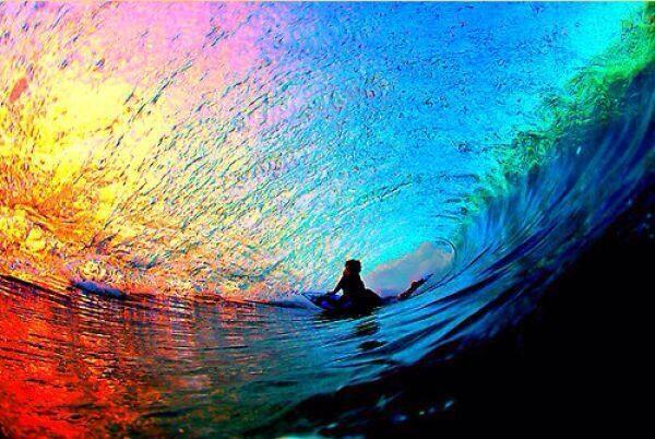 Surfing a rainbow http://t.co/9yL7irxbFB