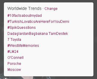 Shane Filan World (@ShaneFilan79): Have you seen #WestlifeMemories trended worldwide?!! :D http://t.co/LbTP49OhCi