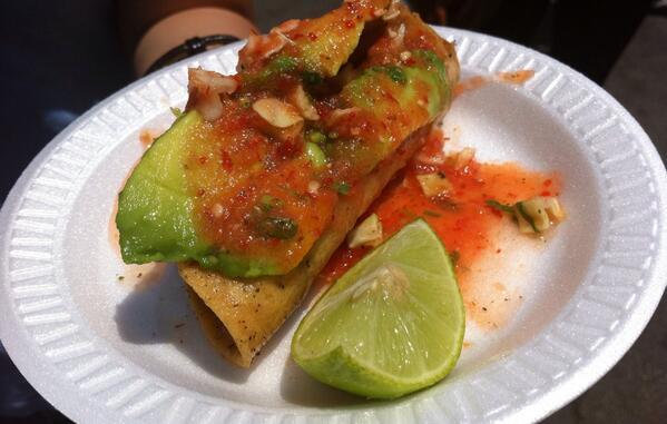 RT @chrstnchiao: Shrimp taco @MariscosJalisco was worth the wait @LAWeekly's #Tacolandia http://t.co/qJP6U9H3f9