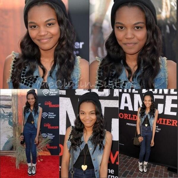 @realchinaanne at the Lone Ranger premiere. http://t.co/KtpHFhBJDv