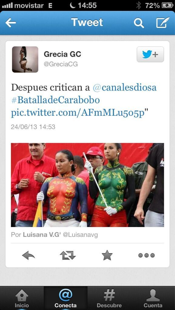 Diosa Canales (@canalesdiosa): . Me gustaria saber cual es la opinión d la ministra mari pili con respecto http://t.co/TE0ceH5MSm