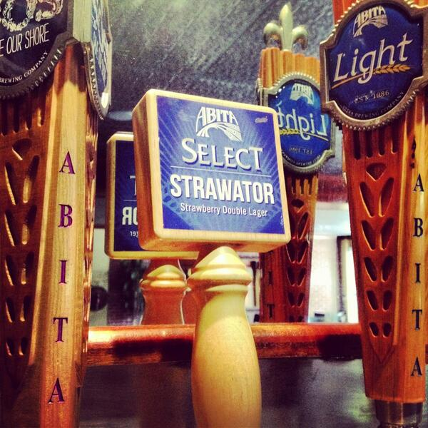 Our newest Select, #Strawator, is now available in our tasting room! Come by and see us tomorrow for a tour. http://t.co/1WUNKNOAkl