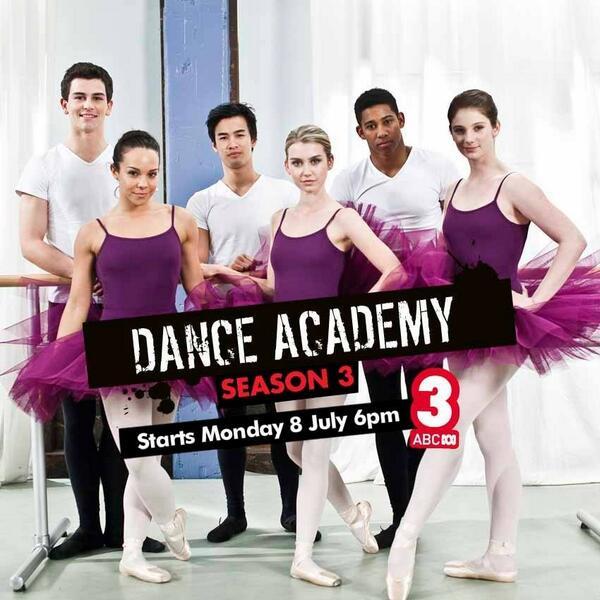 Dance Academy season 3 promotional photo! #DanceAcademy  @DenaAmyKaplan @teejjee @jordansblah09 http://t.co/UhCdwua2xI