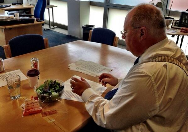 Eric Pickles (@EricPickles): Putting final touches to the LGA speech #lgaconf13 http://t.co/ls9ZWDz3rM