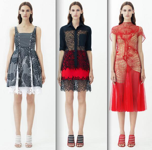 RT @meiklie: stunning cobweb like lace dresses at Christopher Kane #resort14 @glamour_fashion http://t.co/vxWIa8WoW0