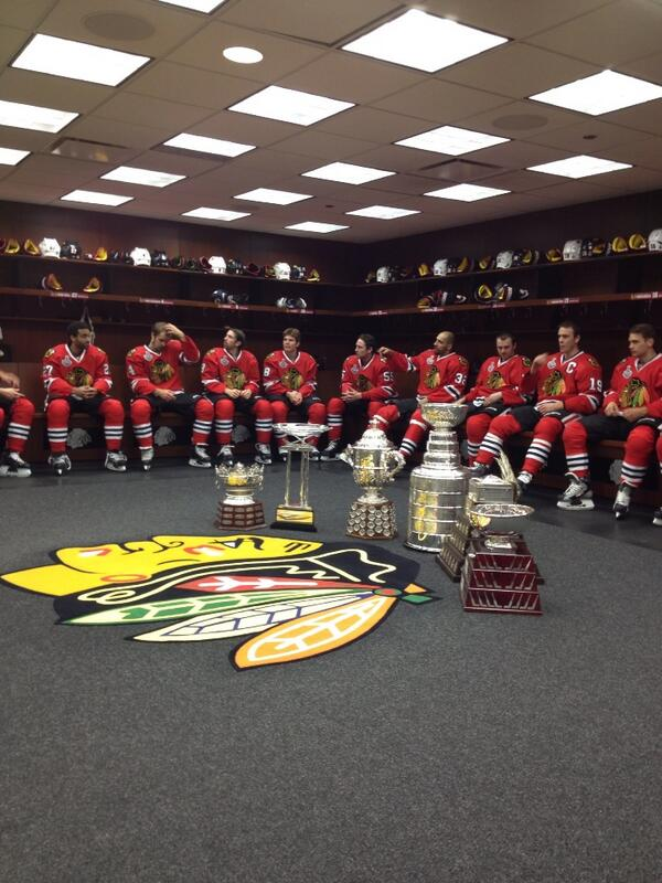 "Special photo for Hawks fans.  RT ""@jamalmayers: Not a bad year fellas!! Don't pinch me I don't wanna wake up! #epic"" http://t.co/Rgbolcxozc"