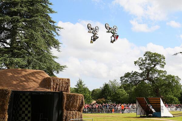 We're off to Goodwood tomorrow @Adamchildchad and @MCNneevesy33 are riding - so are these FMX guys! @FOSGOODWOOD #GAS http://t.co/mXVvv3er9m