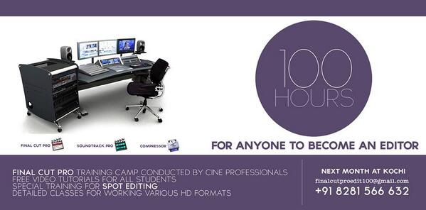 100 hours for anyone to become an film editor... http://t.co/9ztobGfFBx