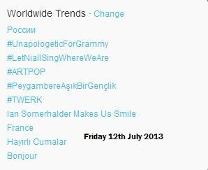 "@iansomerhalder Hey, Mr Smolderhalder! ""Ian Somerhalder Makes Us Smile"" is trending WW right now ;) http://t.co/wnNvJ9CNQE"