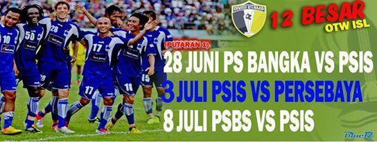 Jadwal PSIS Semarang di babak 12 Besar Putaran Pertama Divisi Utama PT Liga Indonesia. #PSISotwISL http://t.co/ljO48W2ARb