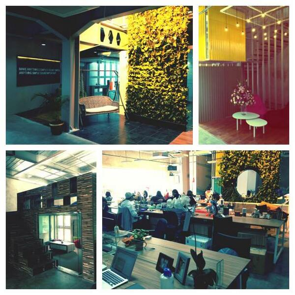 It's been a lovely Monday for Mavchicks & Mavbros at our lovely new office! http://t.co/PRwONlf0LQ