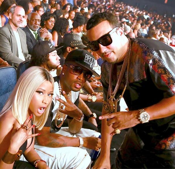 """Nigga I aint worried bout nothin!!! @FrencHMonTanA > RT """"@droptoplexis: Haaaaaaaan """"@NICKIMINAJ: http://t.co/aK2d5DKHax"""""""""""